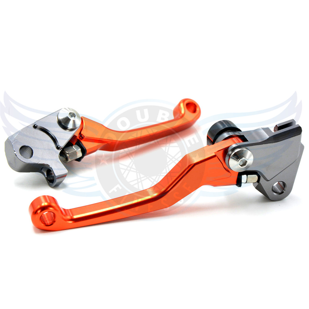 ФОТО motorcycle accessories increased torque of cnc pivot brake clutch levers For KTM BX 570 Motard 2009 2010 2012