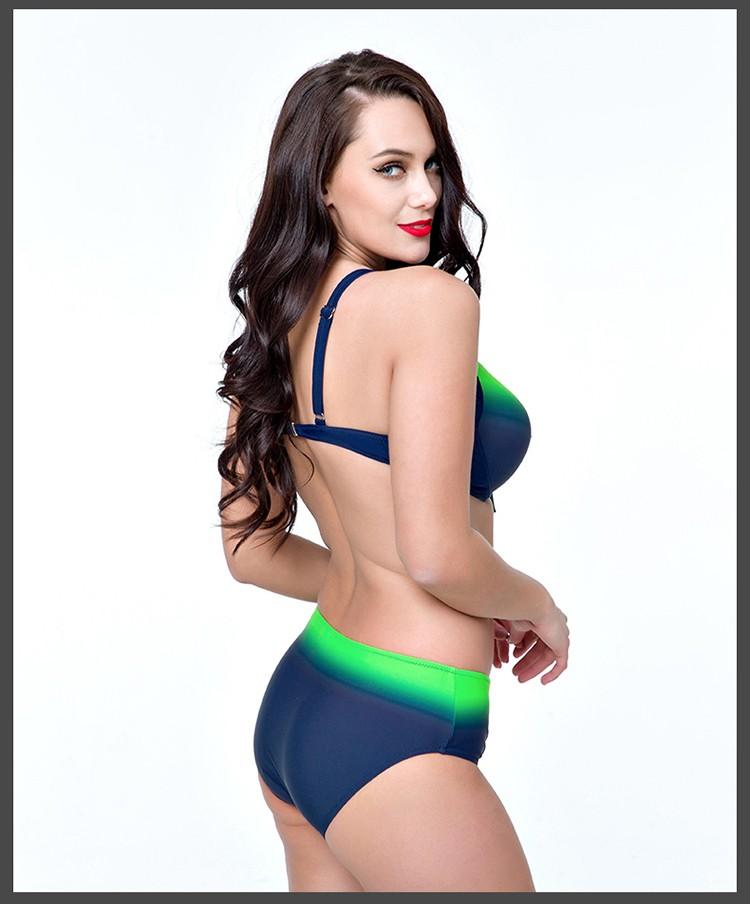 9522f12c7 2019 Sexy push up plus size bikini set woman swimwear maillot de bain  swimsuit USD 18.99/piece