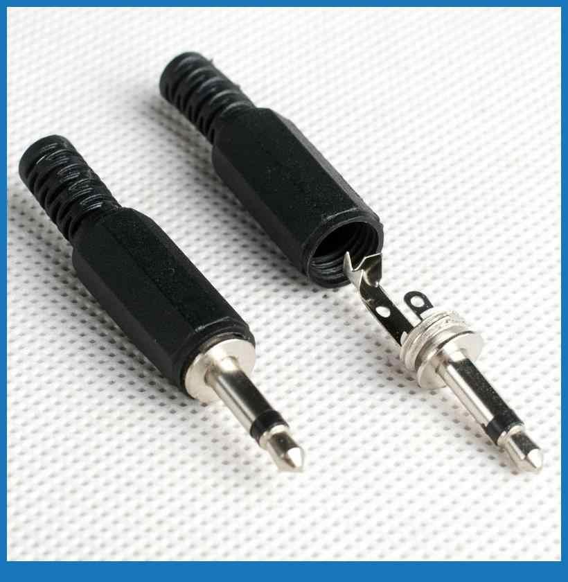10pcs,1/8' 3.5mm Mono JACK PLUG AUDIO SOLDER CONNECTORS|connector 3.5mm| connector plugconnector audio - AliExpressAliExpress
