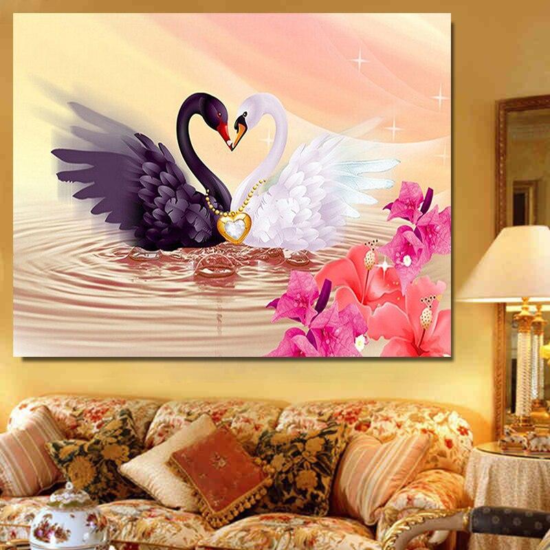 Newlywed Home Decor: 5D Diamond Painting Diy Diamond Painting Embroidery Cross