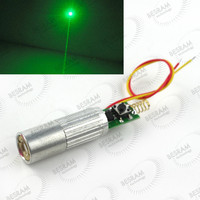INDUSTRIAL LAB 3VDC 532nm Green Beam Laser Lazer 50mW Diode Module