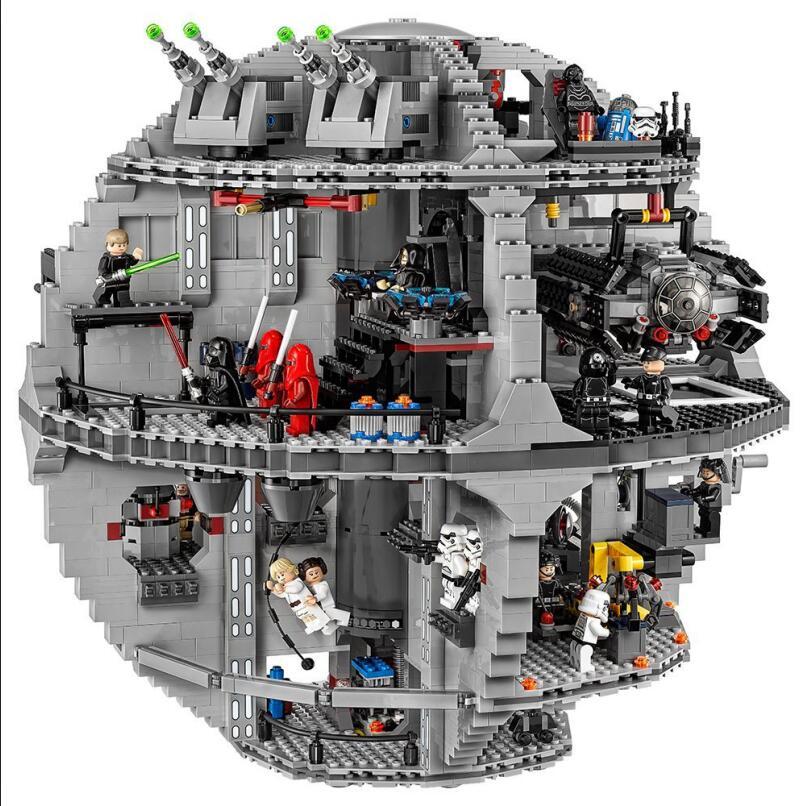 05063 05035 05026 Star Series Wars UCS Death Star blocs de construction éducatifs briques jouets compatibles legaoING 10143 10188 75159