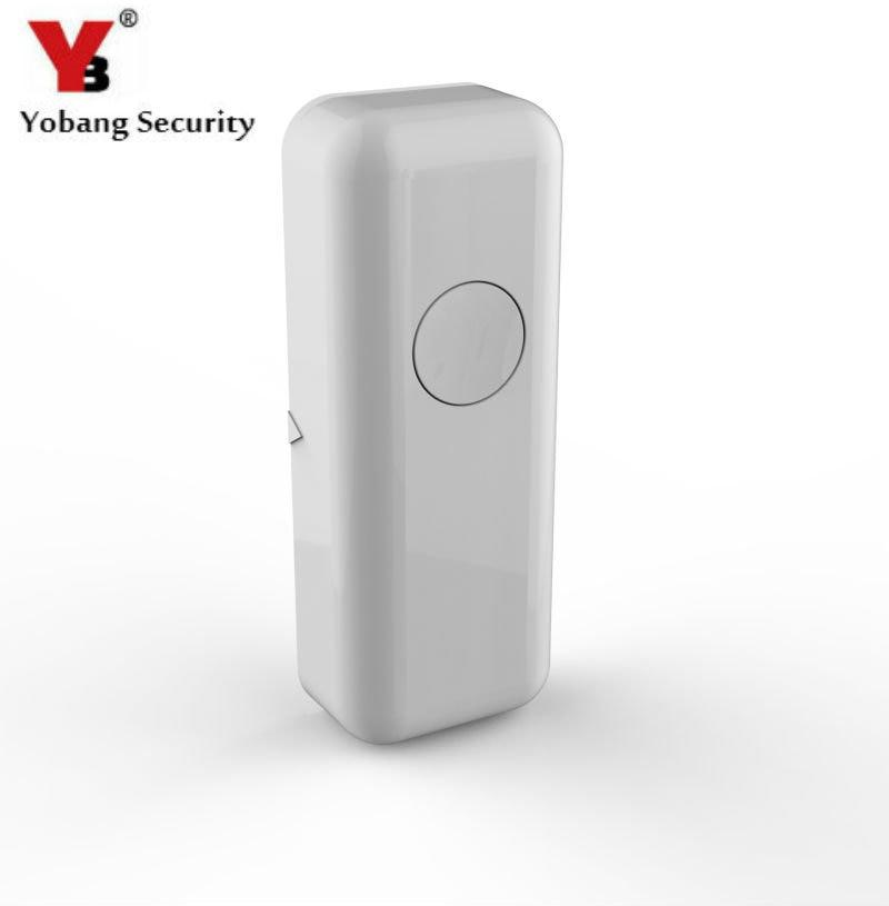 YobangSecurity Wireless Door And Window Type Sensor Magnetic Contact 433MHZ Door Detector For Home Security Alarm System. недорого