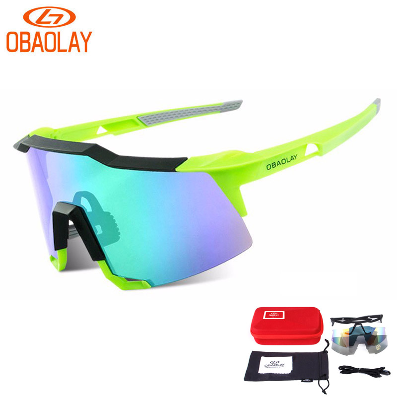 OBAOLAY TR90 Frame Bicycle Cycling Glasses Outdoor Bike Sunglasses MTB Road Bike Ciclismo oculos Men Women Cycling Eyewear high quality iron wire frame sun glasses women retro vintage 51mm round sn2180 men women brand designer lunettes oculos de sol