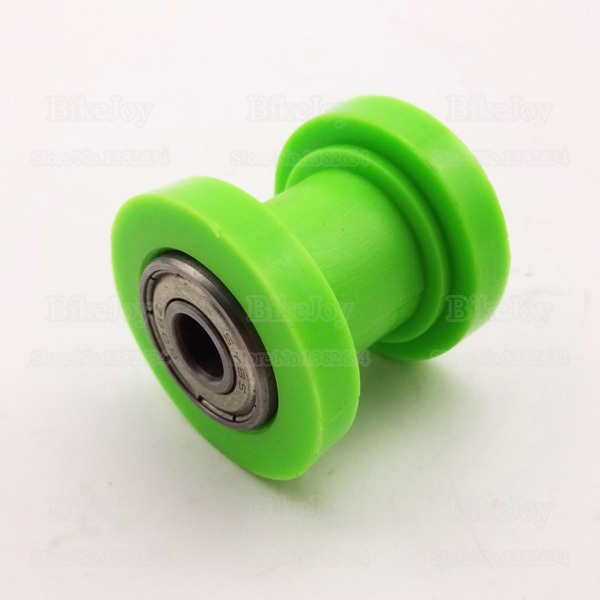 8mm Chain Guide Roller Tensioner For 50cc 110cc 125cc Dirt Pit Pro Bike Green