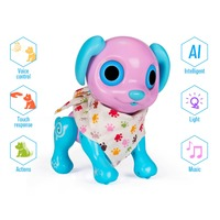 Electronic Pet Dog Interactive Puppy Smart Robot Toys Responds to Touching Voice Fun Activities Gifts Idea Kids