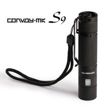 Convoy S9 flashlight ,cree xml2 inside,1400mA,with micro USB charging port
