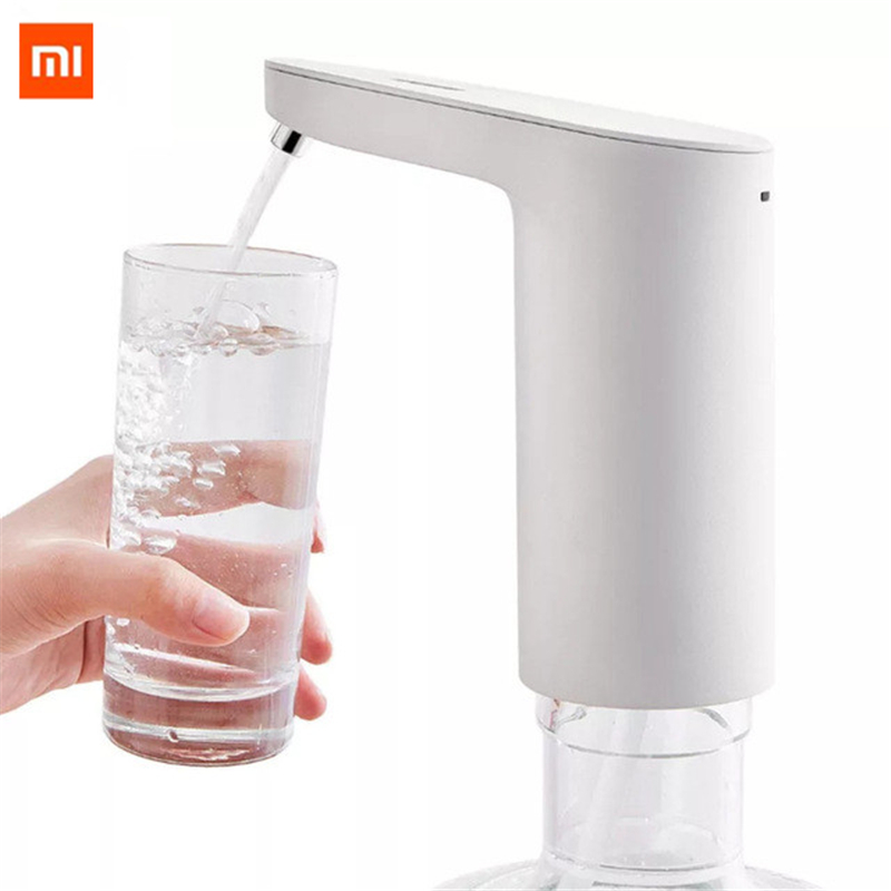 Newest Xiaomi XiaoLang Automatic Mini Touch Switch Water Pump Wireless Rechargeable Electric Dispenser Water Pump WithTDS Test-in Smart Remote Control from Consumer Electronics