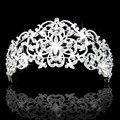 New Fashion Rhinestone Crystal Tiara Wedding Crown Bridal Hair Accessories Free Shipping