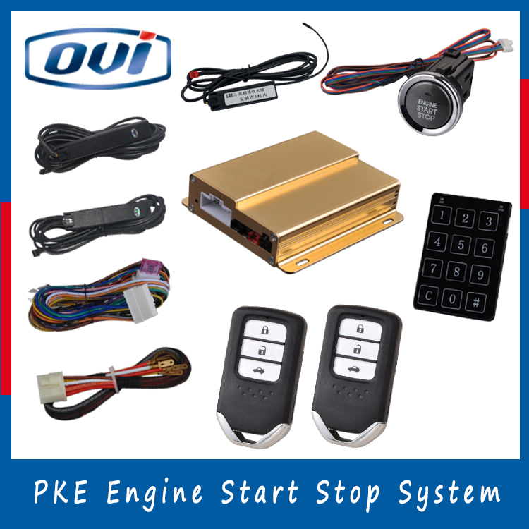 Best Quality Remote Auto Start Universal Security Alarm
