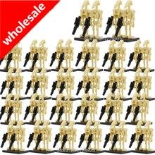 Оптовая продажа 100 шт./лот хит битва дроид фигурки Модель Набор строительные блоки наборы кирпичные игрушки для детей