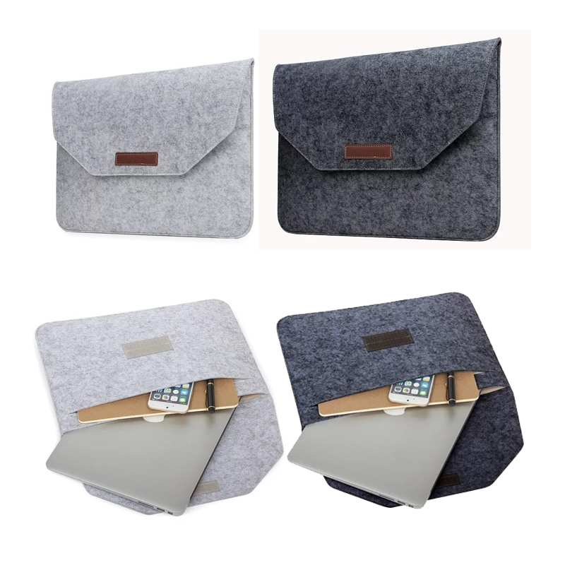 Full Protective Wool Felt For Microsoft Surface Book Laptop Sleeve Case 13.5 '' Pouch Soft For Surface Book 13.5 Sleeve