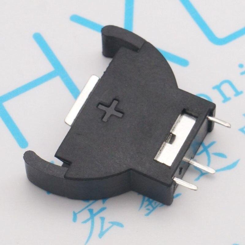 CR2032 support de batterie bouton connecteur de batterie vertical vertical