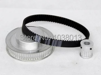timing Belt Pulleys HTD3M  1:4 timing pulley 15 teeth and 60 teeth belt width 10mm htd5m 20 teeth 25mm belt width aluminum timing pulley and timing belt