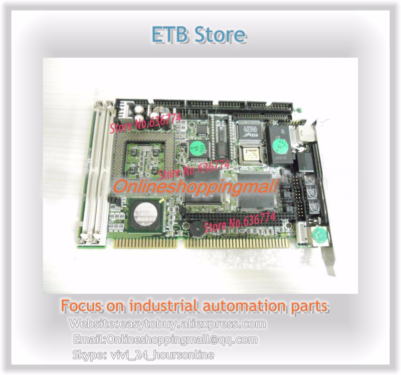 IPC-586VDHB ISA industrial motherboard TESTED OK motherboard for laptops industrial motherboard for ipc well tested working