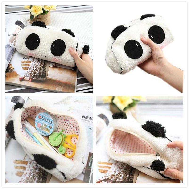 3d Leuke Pluche Panda Etui Zakken Kawaii Noverty Goedkope Grote Grote Capaciteit All In 1 Pen Tassen Organizer Houders Voor Kids School Wil Je Wat Chinese Inheemse Producten Kopen?
