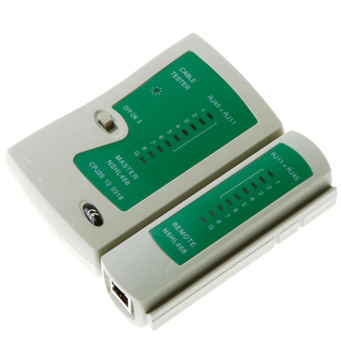 Etmakit Высокое качество Профессиональный сетевой кабель тестер для RJ45 RJ11 RJ12 CAT5 utp кабель lan тестер