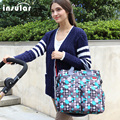 2016 Hot Sales Colorful Baby Diaper Bag Nappy Bags Waterproof Changing Bag Multifunctional Mommy Bag
