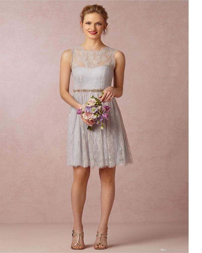 Online Get Cheap Silver Grey Wedding Dresses Aliexpress