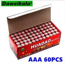 40 шт аптека 1,5 В AAA батарея Углеродные сваи UM4 сильный взрыв-1,5 Вольт AAA не ртутная батарея