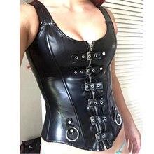 2c9e340c671 2019 Women Halloween Sexy Slimming Waist Trainer Cincher Corset Lace Up  Bustier Top Steampunk Role-