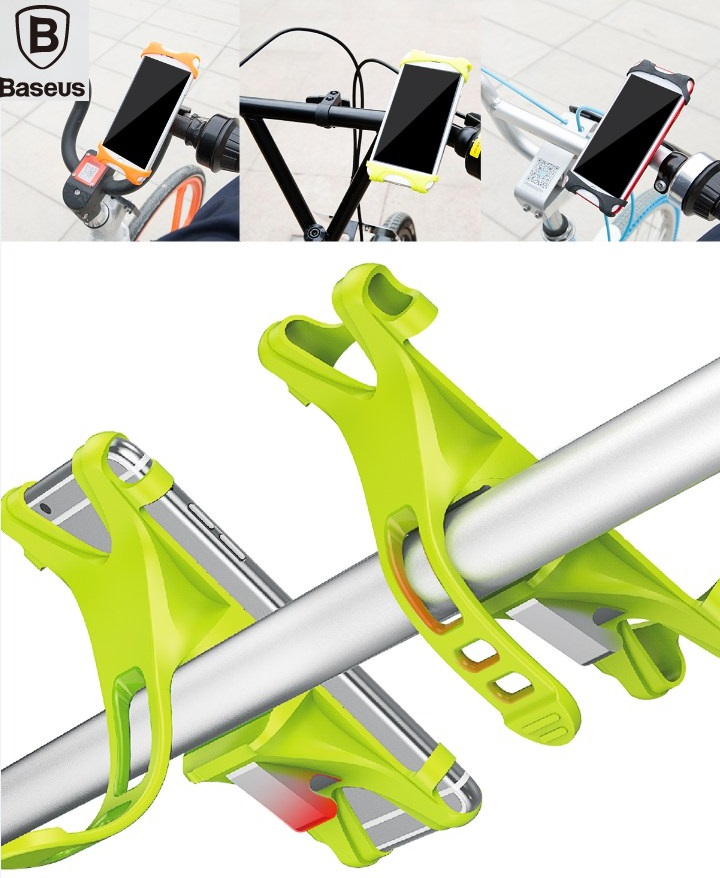 BASEUS Brand Outdoor Miracle <font><b>Bicycle</b></font> Mobile <font><b>Phone</b></font> <font><b>Holder</b></font> Stand Mounts For Bike Riding Navigation For Universal 4-6 inch <font><b>Phone</b></font>