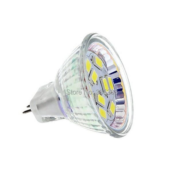 Ultra Helle 5 Watt MR11 GU4 Led lampe Lampe 9 leds SMD5630 Weiß ...