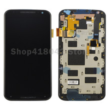 For Motorola Moto X+1 X2 XT1092 XT1095 XT1097 LCD Display Touch Screen Digitizer Assembly With Frame Free Shipping