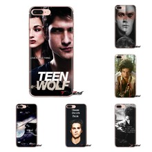Caixa Do Telefone Da Pele de Silicone Para iPod Touch Da Apple iPhone 4 4S 5 5S SE 5C 6 6S 7 8 X XR XS Mais MAX Teen Wolf Stilinski Dylan O'Brien(China)