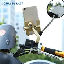 Evrensel iPhone 11 pro 8 7 artı telefonu tutucu bisiklet bisiklet gidon montaj bisiklet alüminyum alaşım standı cep telefonu