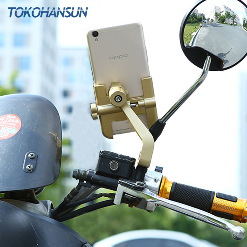 Universal For IPhone 11 Pro 8 7 Plus Phone Holder Bike Bicycle Handlebar Mount Cycling Aluminum Alloy Stand Mobile Phone
