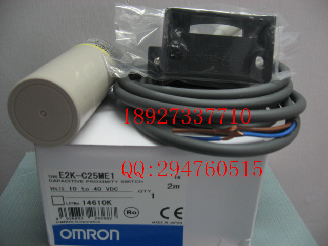 [ZOB] 100% new original OMRON Omron proximity switch E2K-C25ME1 2M factory outlets e2ec c1r5d1 e2ec c3d1 new and original omron proximity sensor proximity switch 12 24vdc 2m