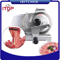 New 10 Blade Commercial Deli Meat Cheese Food Slicer Premium Quality 110V Meat Cutter