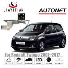Jiayitian камера заднего вида для Renault Twingo II/III Twingo 2 2007 ~ 2017 CCD Ночное видение резервного копирования камеры номерной знак камеры
