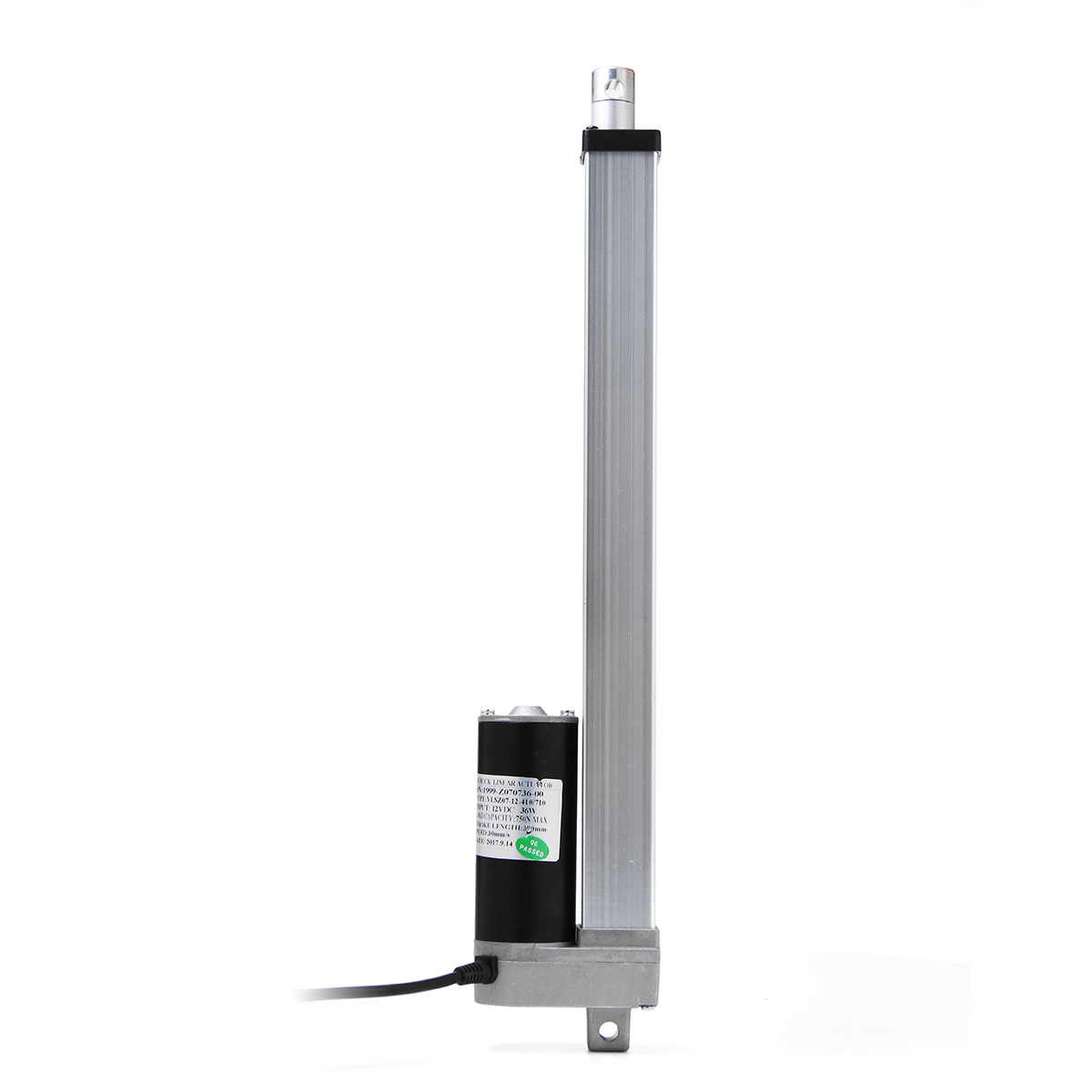 750N 167 Pound Max Lift DC 12V Electric Motor Linear Heavy   Actuator Stroke Linear Motion Controller Multi-function750N 167 Pound Max Lift DC 12V Electric Motor Linear Heavy   Actuator Stroke Linear Motion Controller Multi-function