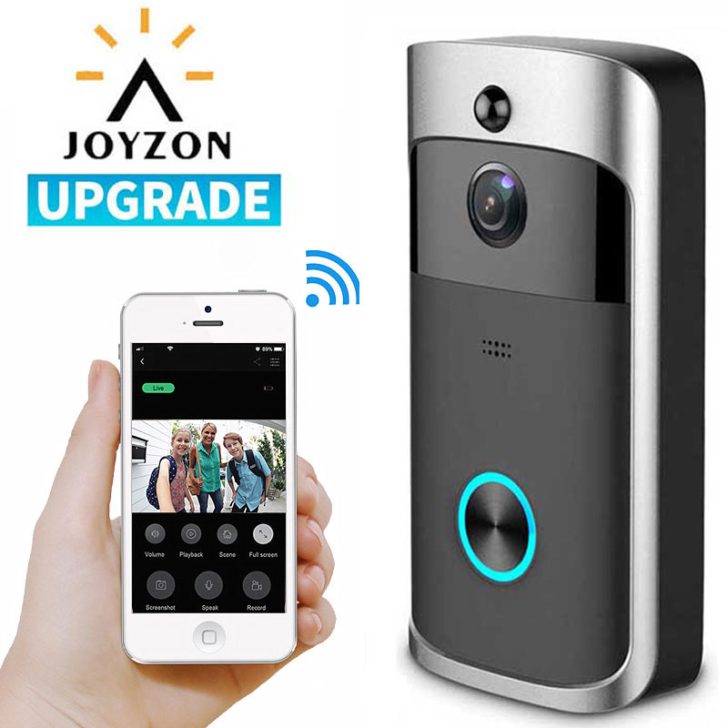 Newest WiFi Video Doorbell Camera Visual Intercom Gateway Night Vision Video Door Phone Bell IR Alarm Wireless Security Camera