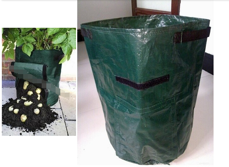 Free Shipping Potato Planter Bag Grow Bags Garden Supplies Taro Planting With Flip Windows Vegetables In From Home On