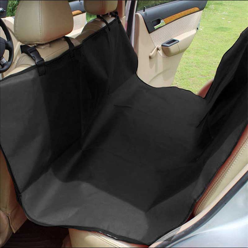 Dog Car Seat Cover Seat Car Interior Travel Accessories Rear Back Pet Dog Car Seat Cover Mats Hammock Protector With Safety Belt цена