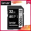 100% Original Lexar SD Card 1000x UHS II U3 SDHC 32GB Memory Card Carte SD up to 150MB/s Class10 cartao de memoria