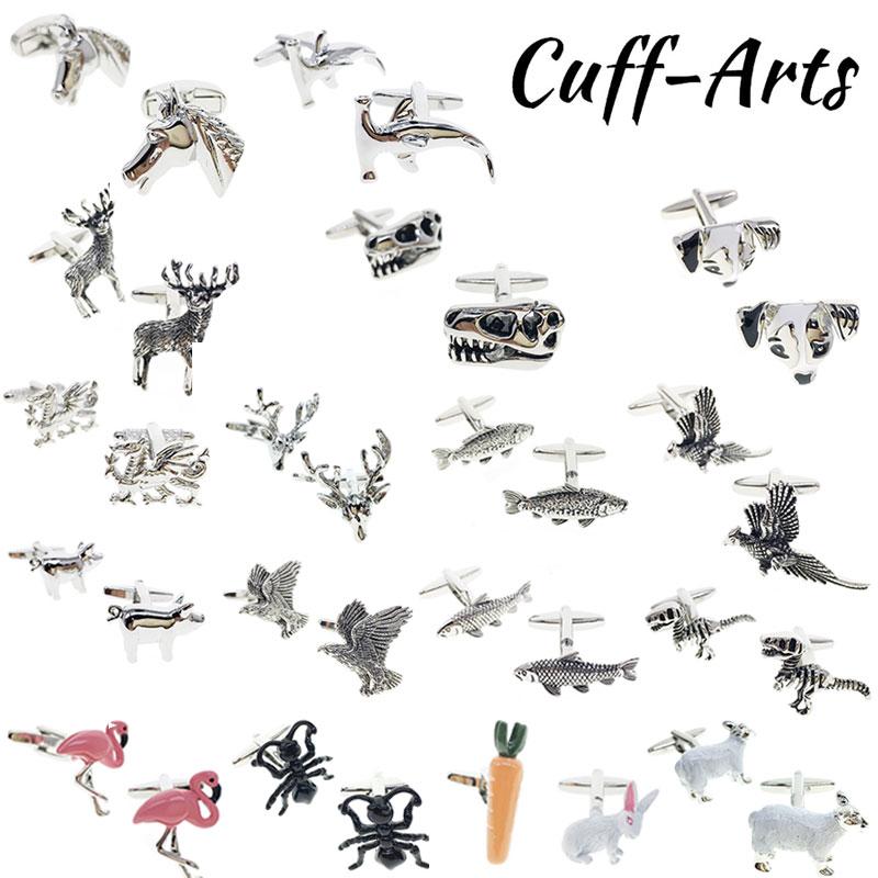 Cufflinks  Animal Shirt Cufflinks Luxury Brass Bottons Fancy Gifts Brand For Men Classic Cuff Links  Jewelry By Cuffarts PT0027