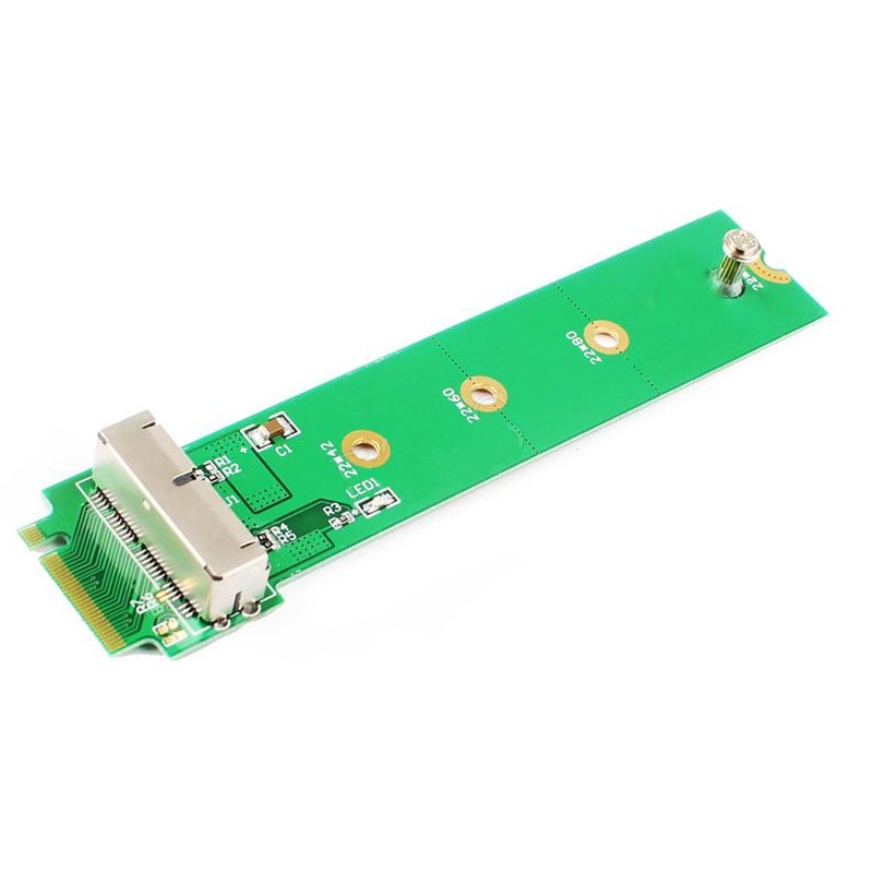 <font><b>Adapter</b></font> Hard Disk <font><b>Adapter</b></font> SSD M2 To <font><b>M.2</b></font> NGFF <font><b>PCIE</b></font> <font><b>X4</b></font> <font><b>Adapter</b></font> For Apple MacBook Air Mac Pro 2013 2014 2015 A1465 A1466 M2 SSD NEW image