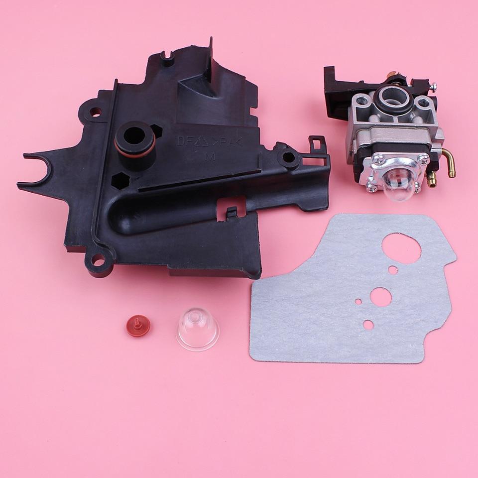 Beixi Zeit Zylinderkopfdeckel Dichtung Kraftstofffilter Schlauchsatz Fit for Honda GX35 GX35NT HHT35S Kleinmotoren Motor-Trimmer Brushcutter Blower M/ähwerke
