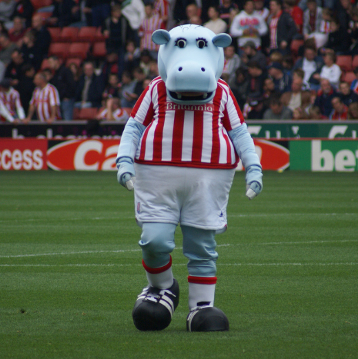 Fast custom football sport hippo cartton Mascot costumes Adult size Costume by express free shipping
