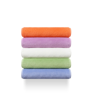 Image 2 - Original Youpin ZSH Polyegiene Antibacterical Towel Young Series 100% Cotton 5 Colors Highly Absorbent Bath Face Hand Towel D5