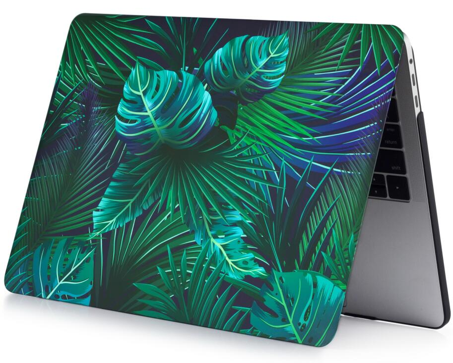 Flower Pattern Shell Protective Hard Case Cover Sleeve Bag for Apple Mac Macbook Air 11 13 Pro Retina 13 12 15