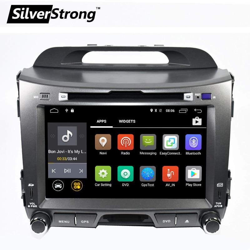 imágenes para Envío libre Android Quad core de 8 pulgadas para KIA Sportage Sportager coches REPRODUCTOR de radio navegación 2din DVD Gps wifi odb2