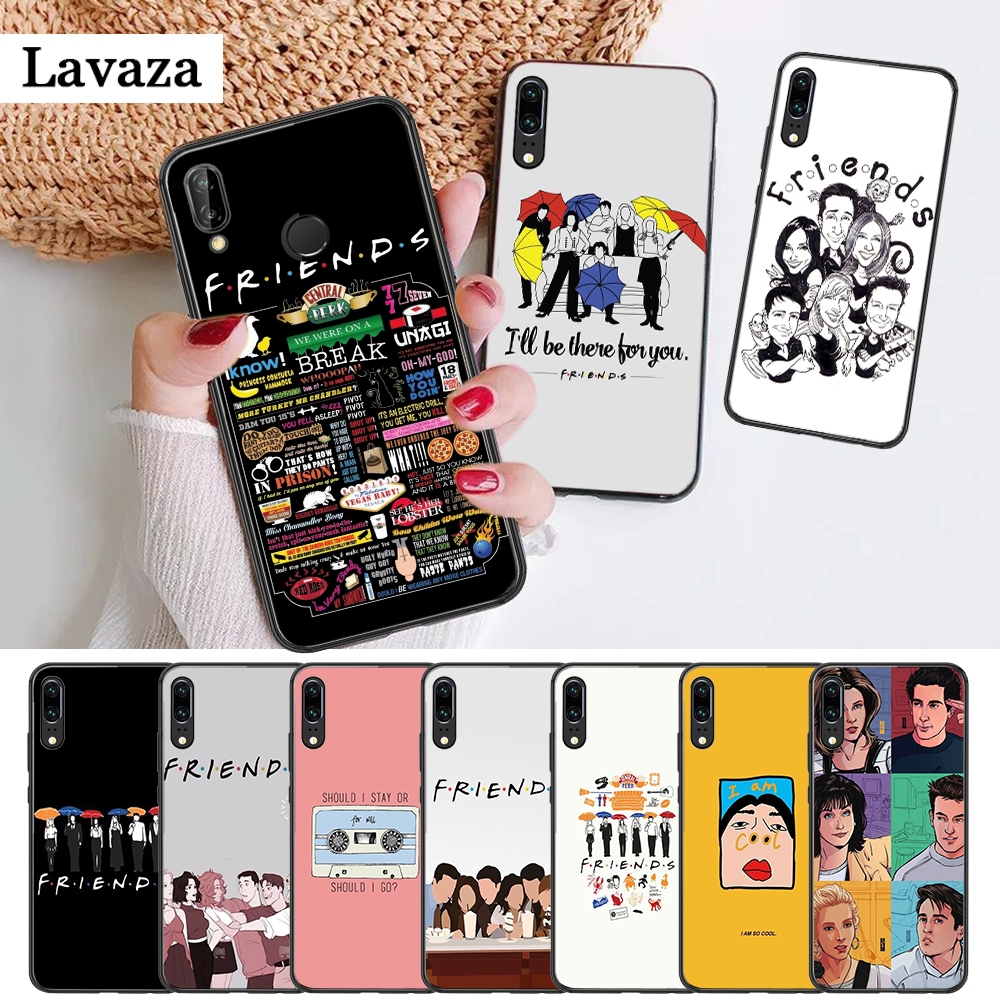 Friends Season TV Silicone Case for Huawei P8 Lite 2015 2017 P9 2016 Mimi P10 P20 Pro P Smart Z 2019 P30 image