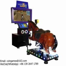 Very Nice! Go Go Jockey II Amusement Park Equipment Adults Video Horse Riding Simulator Game Machine