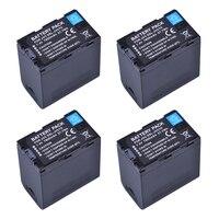 4X 7800mAh 7.4V SSL JVC70 JVC70 SSL JVC70 Camcorder Battery for JVC SSL JVC50 JVC70 GY HMQ10 GY HM200 GY LS300 Batteries