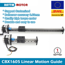 CNC Linear Guide Stage Rail Motion Slide 100 200 300 400 500mm Table Ball Screw linear actuator stepper XYZ stage For 3D printer стоимость